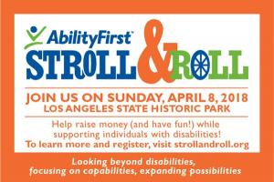 Ability First Stroll and Roll