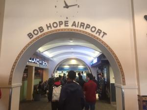 Students tour Hollywood Burbank Airport
