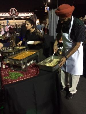 All india Cafe at the Taste of Pasadena