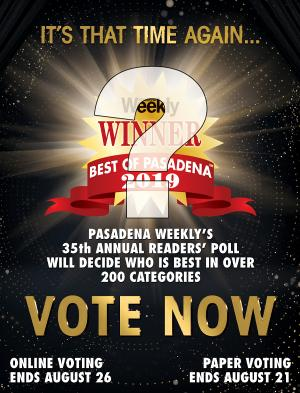 Pasadena Weekly best of voting