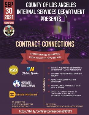 Contracting connection flyer