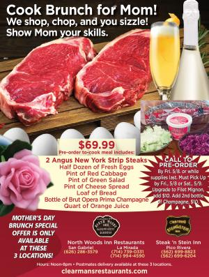 Clearman's mothers day specials