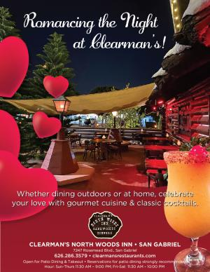 Clearman's Open for Romantic Dinners Flyer
