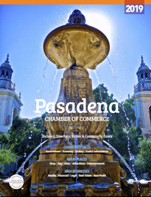 Pasadena Chamber 2019 Business Directory cover