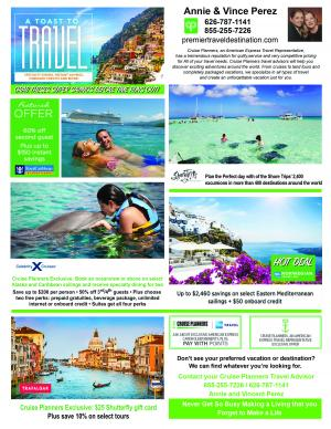 Cruise planners January specials