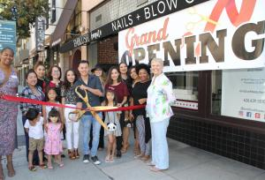 Emblush Beaute ribbon cutting