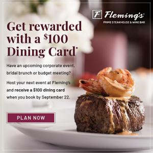 Fleming's Special Offer