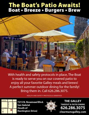 Clearman's Galley Outdoor Dining