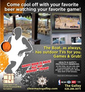Clearman'sGalley Games flyer