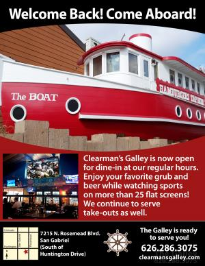 Clearman's Galley reopening