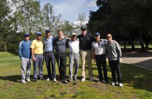 Corporate Center teams at Chamber Golf Tournament