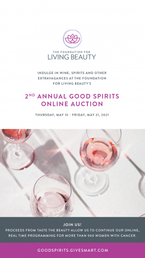 Good Spirits auction flyer