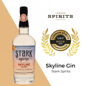 Stark Spirits Skyline Gin wins gold