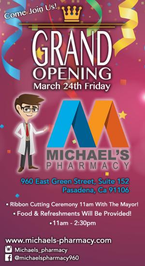 Michaels Pharmacy opening