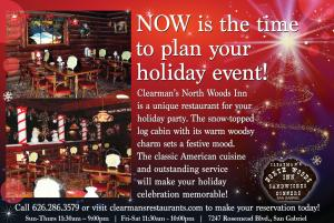 Clearman'sHoliday Party ad