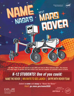 Name the mars rover