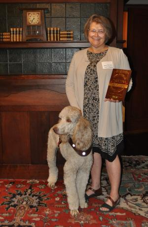 Janie Heinrich and Beckett of Mobility Service Dogs West Coast Project
