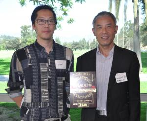 Michael Yu and Stan Chen with Shanghai Foreign Investment Development Board
