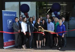 Pacific Premier ribbon cutting ceremony