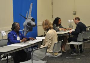 Business matchmaking at the Small Business Opportunity Fair