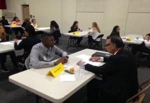 Speed mentoring with PUSD