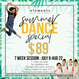 Summer Youth promo from Elements Dance