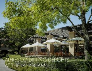 Al Fresco diningat the Langham