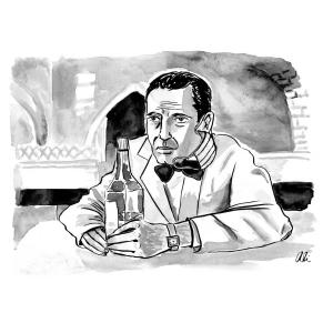 Gin Joints COVID cartoon
