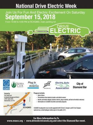 AQMD Electric vehicle Day