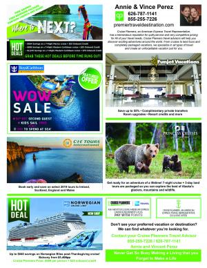 Cruise Planners ad