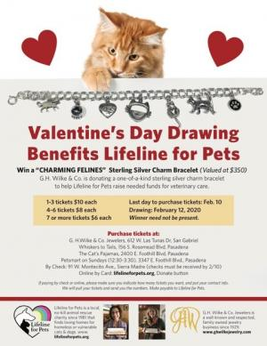 Lifeline for pets jewelry event
